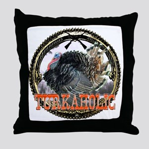 Turkaholic  Throw Pillow
