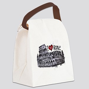 I love Rome  Canvas Lunch Bag