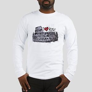 I love Rome  Long Sleeve T-Shirt