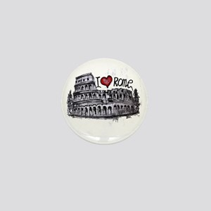 I love Rome  Mini Button
