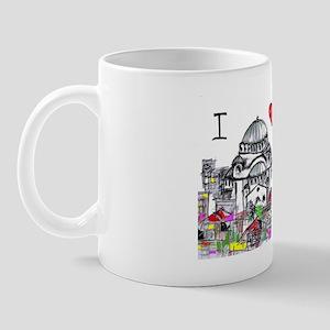 I love Beograd Mug