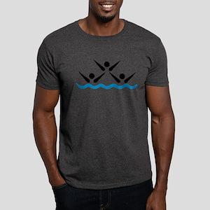 Synchronized swimming icon Dark T-Shirt