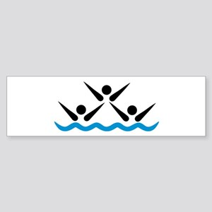 Synchronized swimming icon Sticker (Bumper)