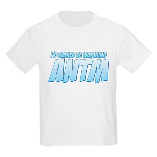 I'd Rather Be Watching ANTM Kids Light T-Shirt