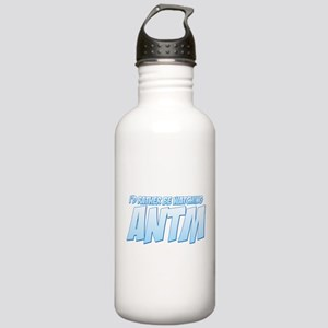 I'd Rather Be Watching ANTM Stainless Water Bottle