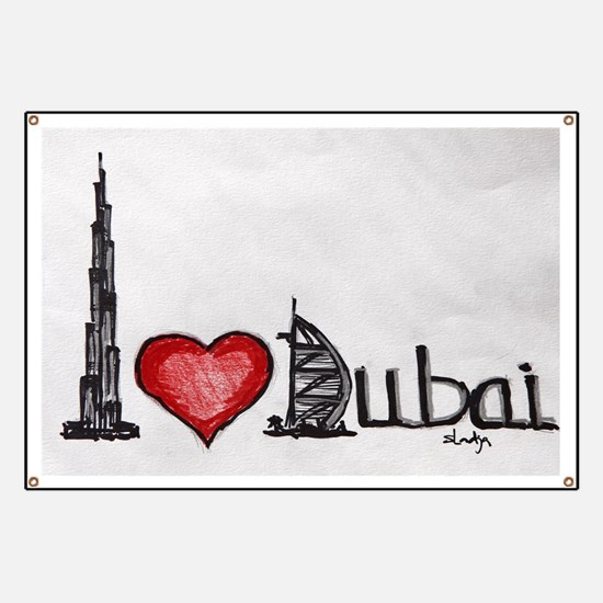 I love Dubai Banner