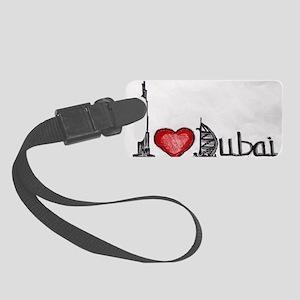 I love Dubai Small Luggage Tag