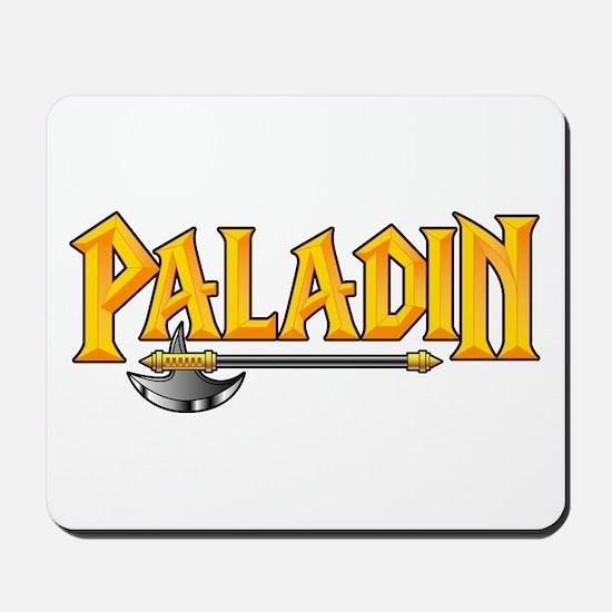 Paladin @ eShirtLabs.Com Mousepad
