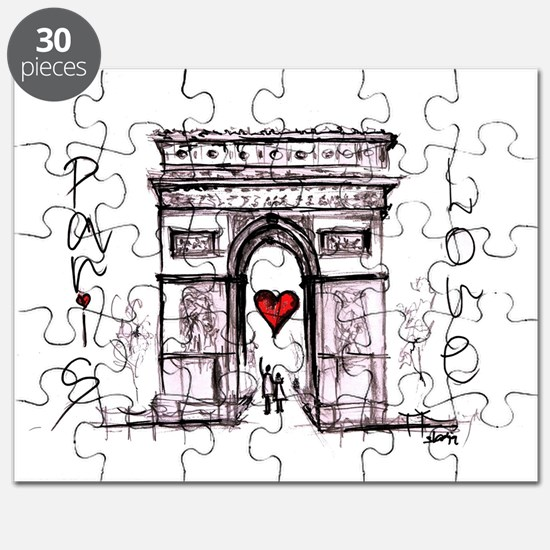 Paris with love  Puzzle