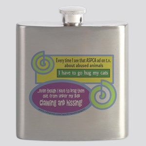 Hug My Cats Flask