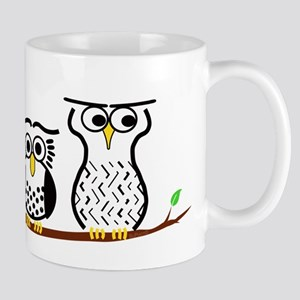 Three Little Owls Mug