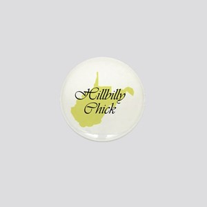 Hillbilly Chick Mini Button