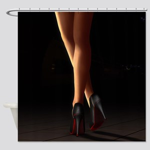 Legs on high heels Shower Curtain