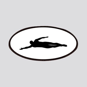 Swimming swimmer Patches
