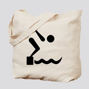 Swimming icon Tote Bag
