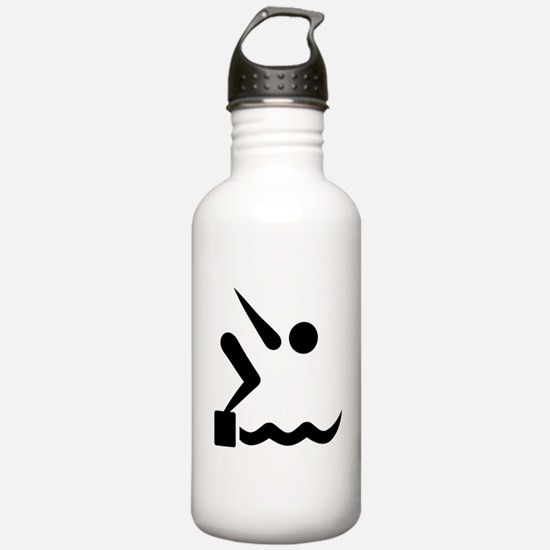 Swimming icon Water Bottle