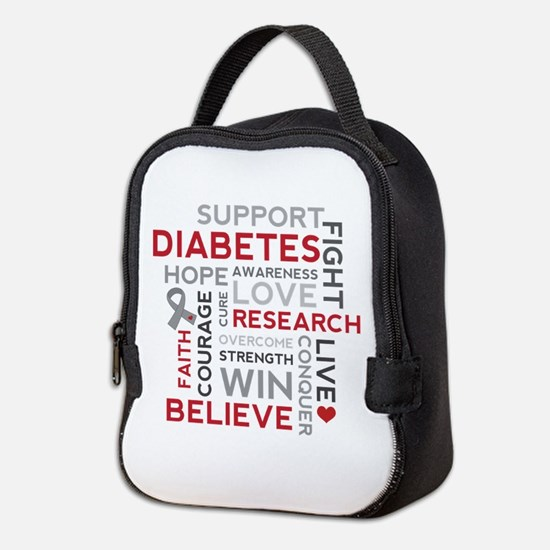 Support Diabetes Research Awareness Neoprene Lunch