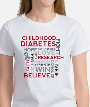 Childhood Diabetes Women's T-Shirt