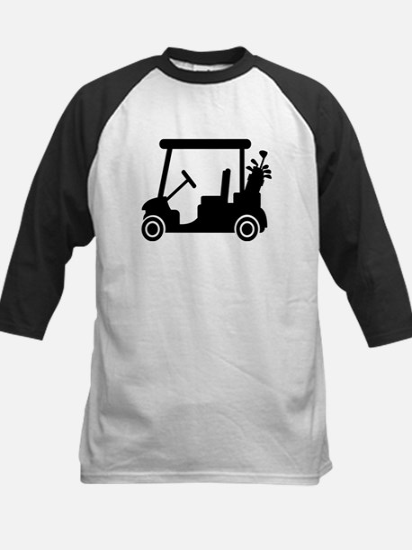 Golf car Kids Baseball Jersey