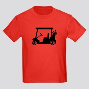 Golf car Kids Dark T-Shirt