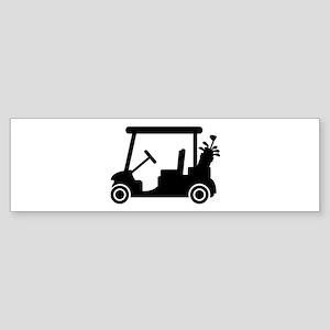 Golf car Sticker (Bumper)