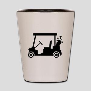 Golf car Shot Glass