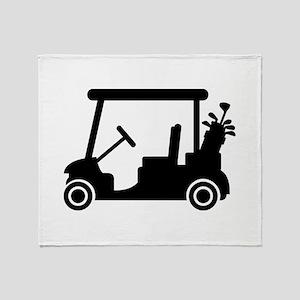 Golf car Throw Blanket