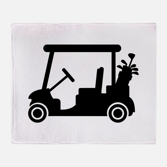 Golf car Throw Blanket