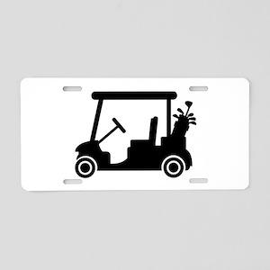 Golf car Aluminum License Plate