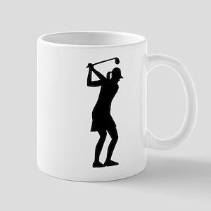 Golf woman Mug