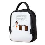 Company Policy Neoprene Lunch Bag