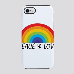Peace & Love iPhone 7 Tough Case