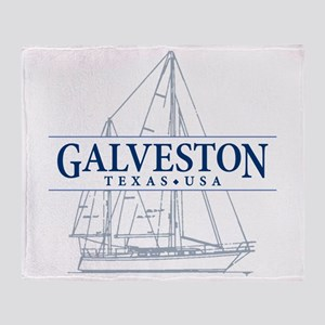 Galveston - Throw Blanket