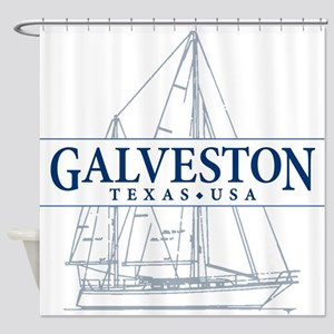 Galveston - Shower Curtain