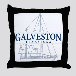 Galveston - Throw Pillow