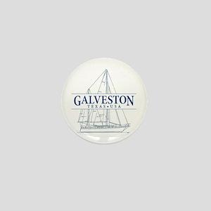 Galveston - Mini Button