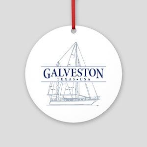 Galveston - Ornament (Round)