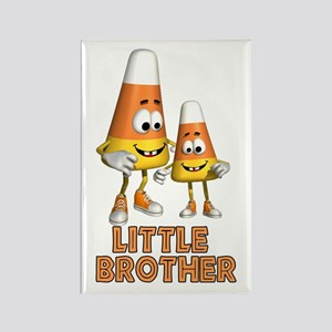 Candy Corn Little Brother Rectangle Magnet
