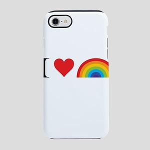 I Love Lgbt iPhone 7 Tough Case
