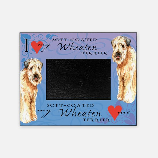 Wheaten Terrier Picture Frame