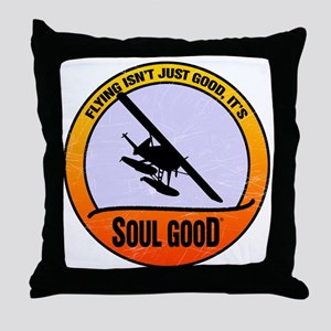 Dehaviland Beaver Aviation - Soul Goo Throw Pillow