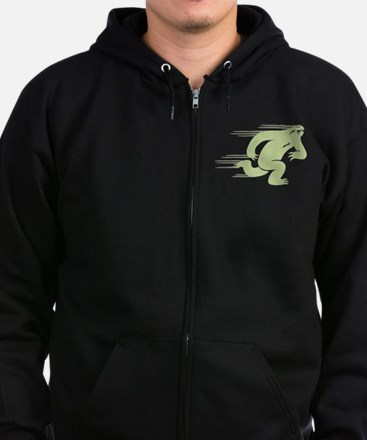 Speed Sloth Zip Hoodie (dark)
