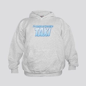 I'd Rather Be Watching Taxi Kids Hoodie