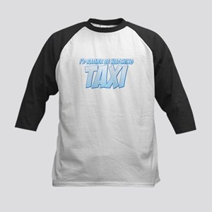 I'd Rather Be Watching Taxi Kids Baseball Jersey
