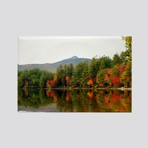 Reflections Of Fall Color Rectangle Magnet