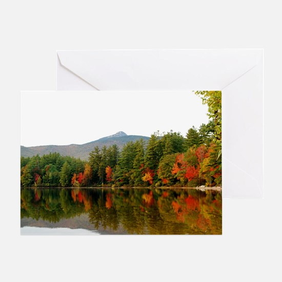 Reflections Of Fall Color Greeting Card