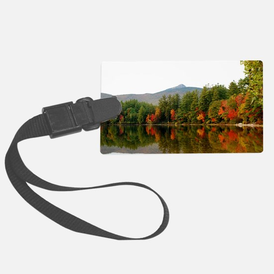 Reflections Of Fall Color Luggage Tag