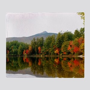 Reflections Of Fall Color Throw Blanket
