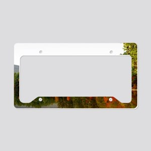 Reflections Of Fall Color License Plate Holder
