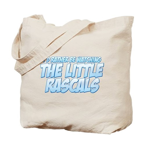 I'd Rather Be Watching The Little Rascals Tote Bag